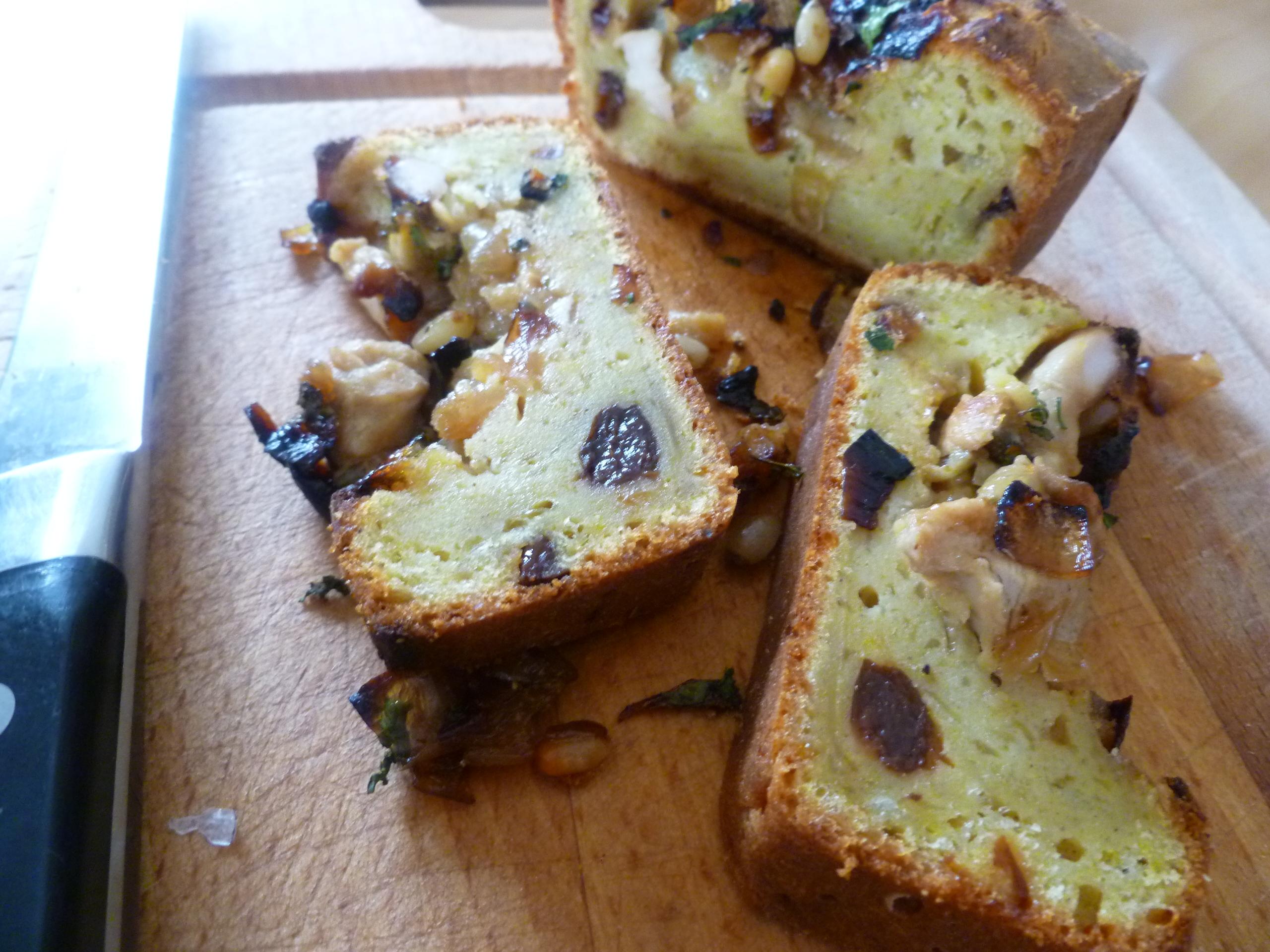 Cake Au Pruneaux Sucr Ef Bf Bde