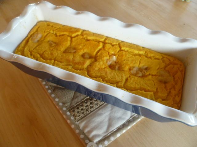 Cake Au Chou Et Lardons