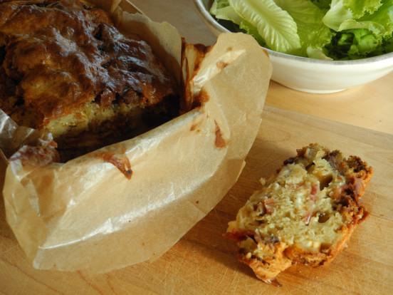 Cake Courgette Chevre Monop