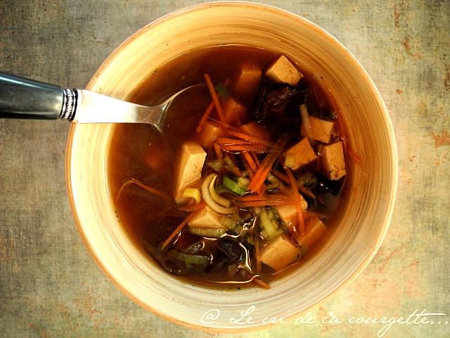 soupe carotte courgette