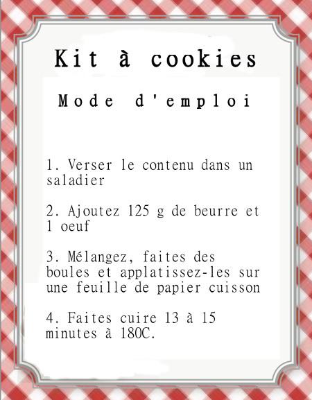 Berühmt SOS Cookies bio {Cadeau Gourmand} | Blog de recettes bio : Le cri  JS99