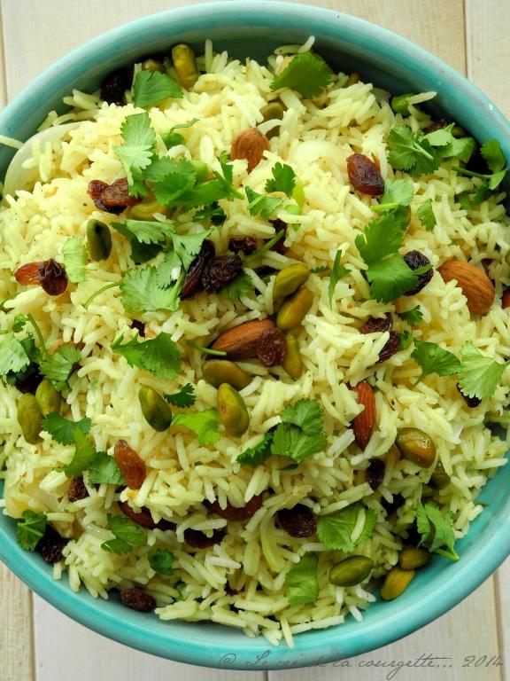 Riz à l'indienne  Blog de recettes bio : Le cri de la courgette...