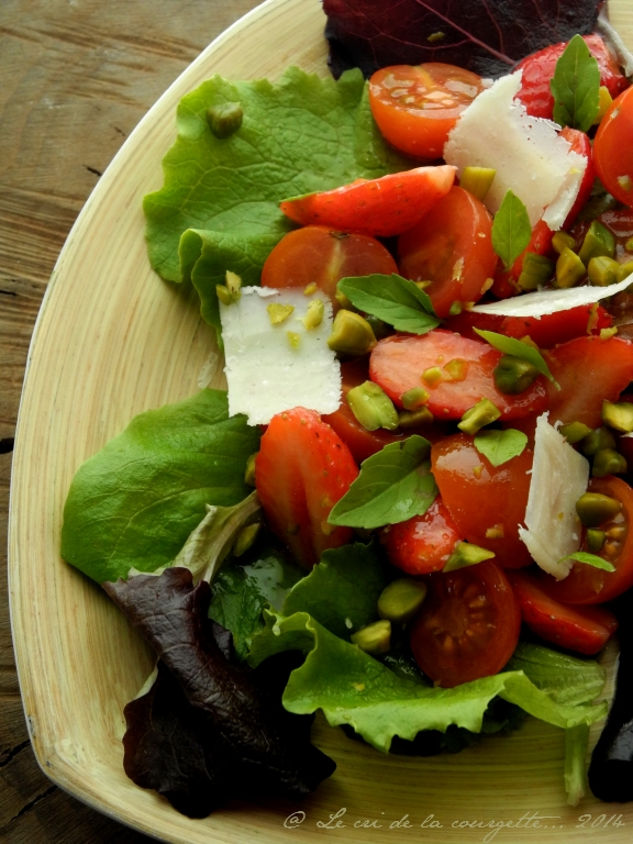Salade fraise to-