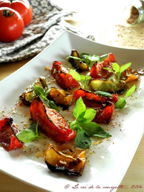 Tomates confites au four au Piment d'Espelette