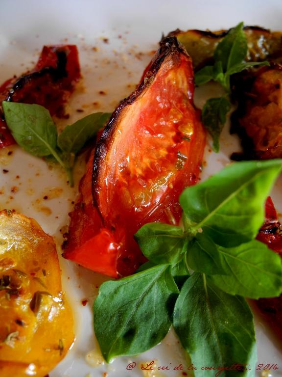 Tomates confites au Piment d'Espelette