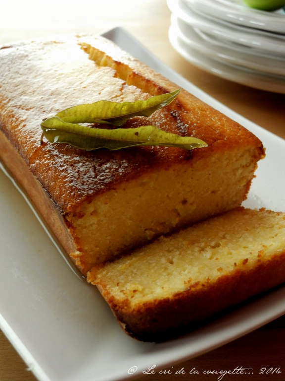 gâteau de polenta au citron & sirop de verveine | blog de recettes