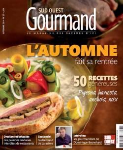 Sud Ouest Gourmand Septembre 2014 Le cri de la courgette… résonne en Béarn