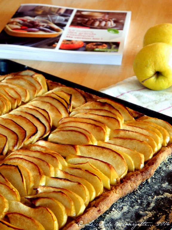 La tarte aux pommes de Marie Chioca