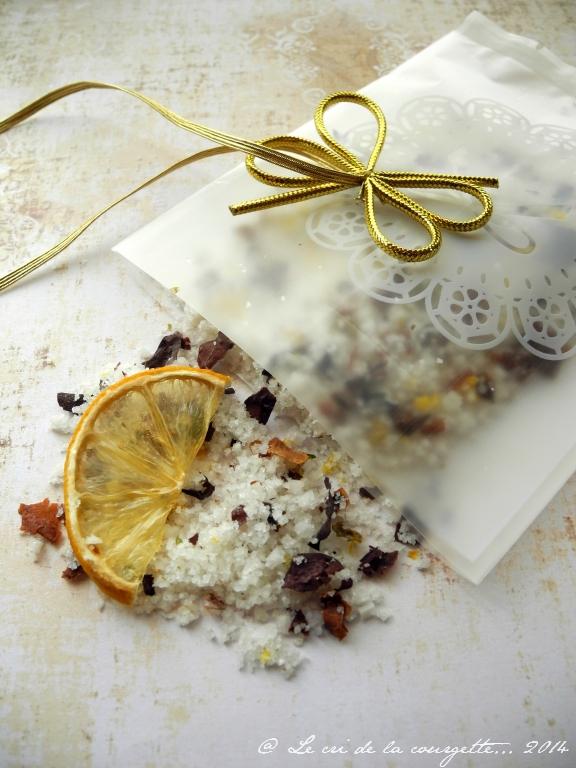 Fleur de sel au zeste de citron et aux algues {cadeau gourmand}