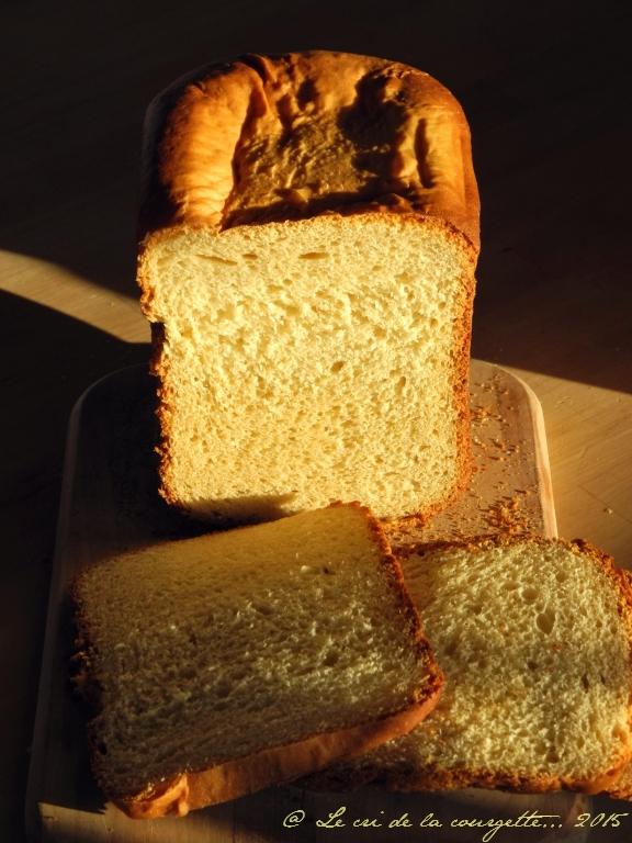Brioche d'épeautre et au lait d'amande à la Machine à pain {sans lactose}