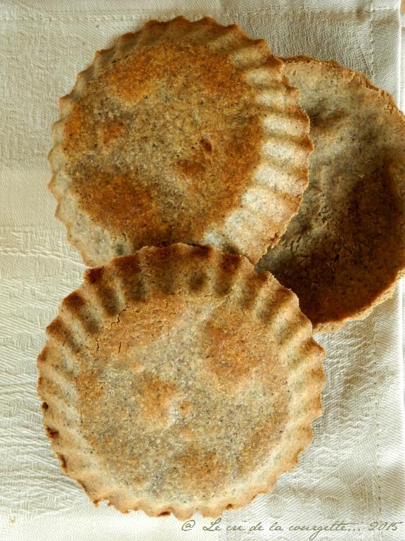 Pâte à tarte au sarrasin {sans gluten}