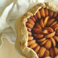 Tarte rustique abricots myrtilles