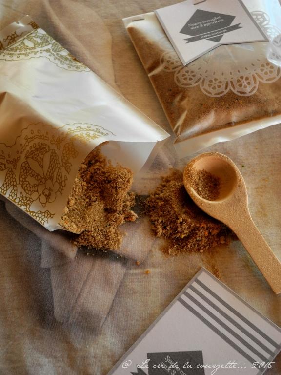Sucre complet Rapadura aux 3 agrumes {cadeau gourmand}