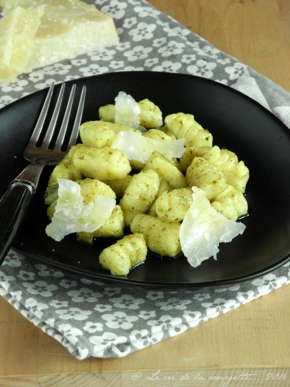 Gnocchis au parmesan {sans gluten}