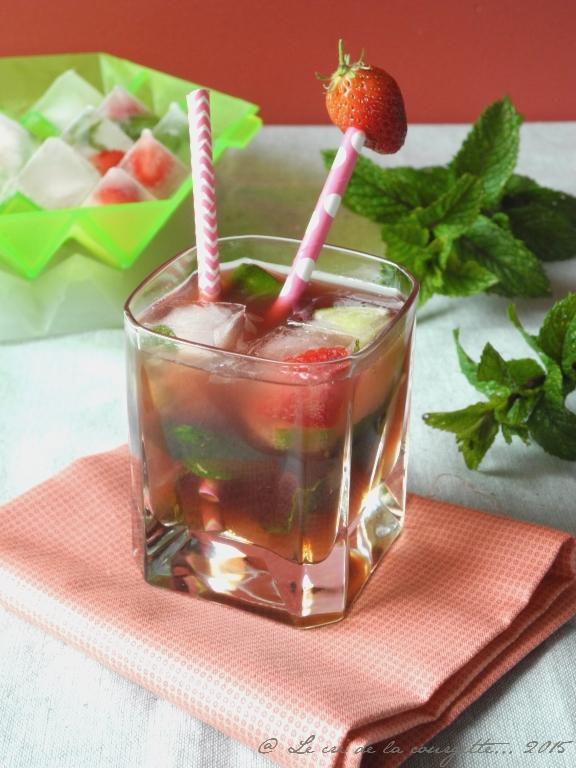 Mojito fraise-