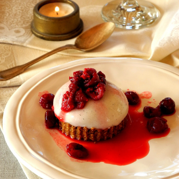 panna cotta cake aux fruits rouges blog de recettes bio le cri de la courgette. Black Bedroom Furniture Sets. Home Design Ideas