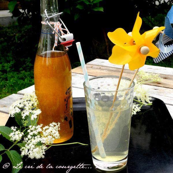 Sirop de sureau et citron
